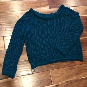 Free People Sahara Star Pullover Chunky Sweater L